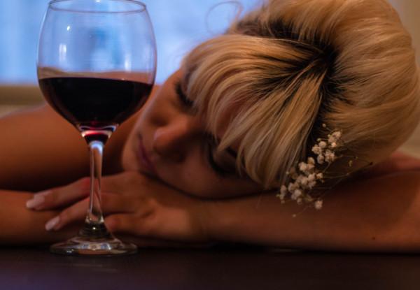 alkohol sova