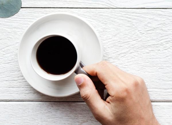 svårt att sova på grund av kaffe